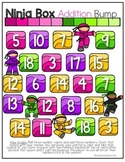 FREE Ninja Bump Math Games (Addition and Multiplication)