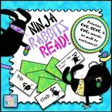 Easter Reading Activities PreK Kindergarten 1st Game Board | CVC CVCe FREE