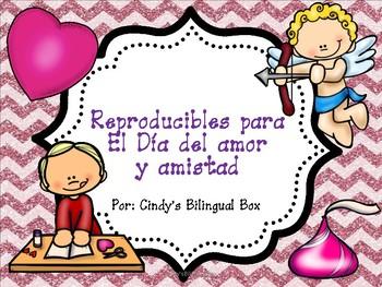 FREE No Prep Spanish Valentine's Day Printables