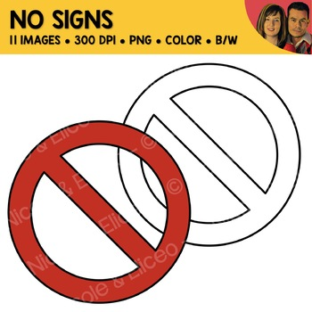 FREE No Sign Clipart