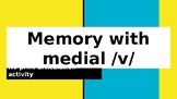 FREE No print / No prep - medial /v/ activity - Teletherapy