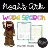 FREE Noah's Ark Bible Word Search
