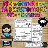 FREE  Non Standard Measurement Quiz Weight Temperature Capacity