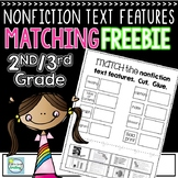 FREE Nonfiction Text Features Matching Activity