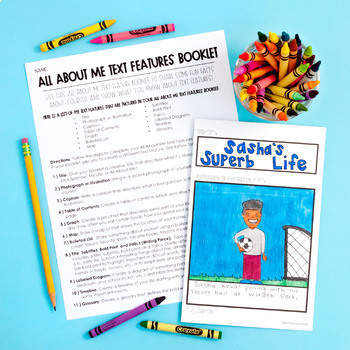 FREE Nonfiction Text Features Printables and Activities
