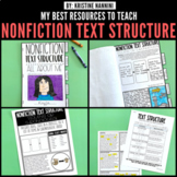 FREE Nonfiction Text Structure Printables and Activities