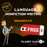 FREE Nonfiction Writing | Planning Frames & Conceptualised Approach | Grades 1-6