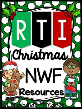 I HAVE WHO HAS CHRISTMAS NWF RTI Resource by Ms. Lendahand;)