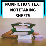 *Free*Note-Taking Sheets for Upper Elementary & Middle School Students