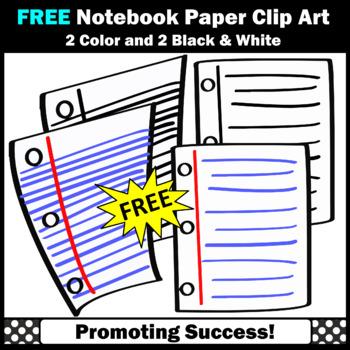 FREE Notebook Paper Clip Art,  SPS