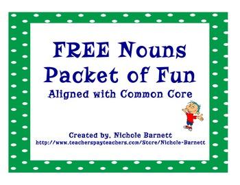 FREE Noun Packet of Fun