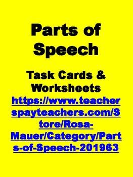 FREE Nouns Worksheet common noun or proper noun
