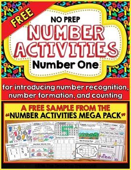 FREE Number Activities