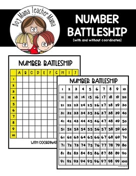 FREE Number Battleship Game