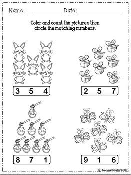 FREE Number Fluency (1-20)