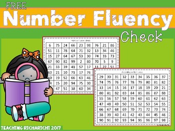 FREE Number Fluency Check