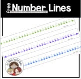 FREE Number Lines for Math