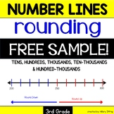 FREE Number Lines for Rounding