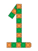 FREE Number Pattern Blocks (Colored)