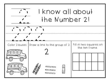FREE Number Sense 1-10