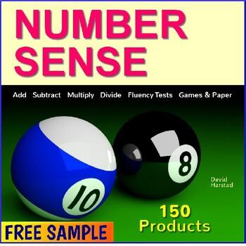 FREE - Number Sense Worksheet