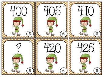 FREE Number Sequence Elves