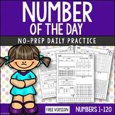 FREE Number Sense | Numbers 1-120