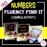 FREE Numbers Fluency Find It®