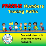 FREE Numbers Tracing Paths