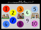 FREE: Numeracy - Count to 10 Poster