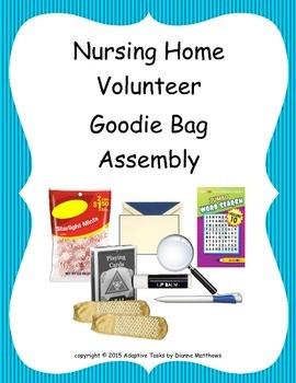 FREE Nursing Home Volunteer Assembly Task
