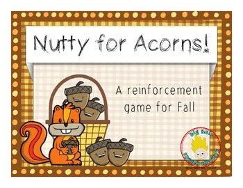 FREE: Nutty For Acorns - A Reinforcement Game