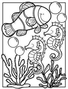 animal coloring pages clipart - photo#1