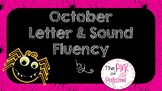 FREE October Letter & Sound Fluency PPT