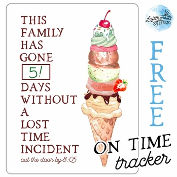 FREE! On Time Tracker, Time Lost Tracker