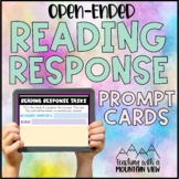 FREE Open Ended Reading Response Cards