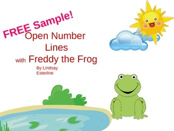 FREE Open Number Line Addition Strategy PPT Sample