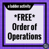 Order of Operations Ladder Activity