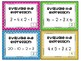 FREE Order of Operations Task Cards Common Core 5.0A.1