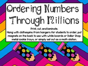 FREE-Ordering Numbers through Millions