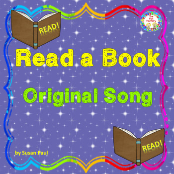 FREE Original Song, Read, Read, Read a Book Tune is Row, Row, Row Your Boat