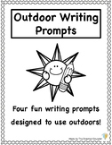 FREE Outdoor Writing Prompts