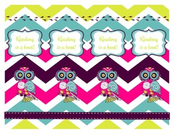 Owl Bookmarks Freebie
