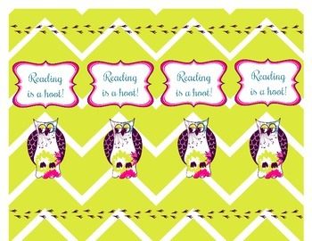 Owl Bookmarks Freebie