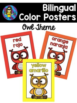 FREE Owl Color Posters