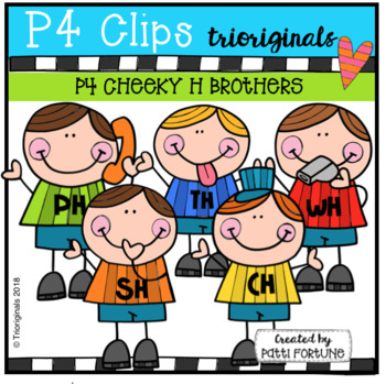 FREE P4 CHEEKY H Brothers (P4 Clips Trioriginals)