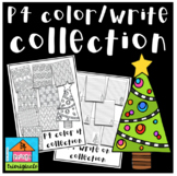 FREE P4 COLOR  WRITE Christmas Collection (P4 Clips Trioriginals)