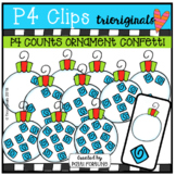 FREE P4 COUNTS Ornament Confetti (P4 ClipsTrioriginals)