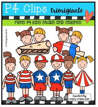 FREE P4 KIDS Stars and Stripes