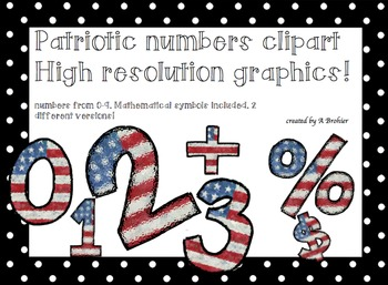 FREE PATRIOTIC NUMBERS AND SYMBOLS!